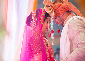 Grand Wedding Ceremony at Oxford Golf & Country Club, Pune, Maitrayiee Weds Nachiket